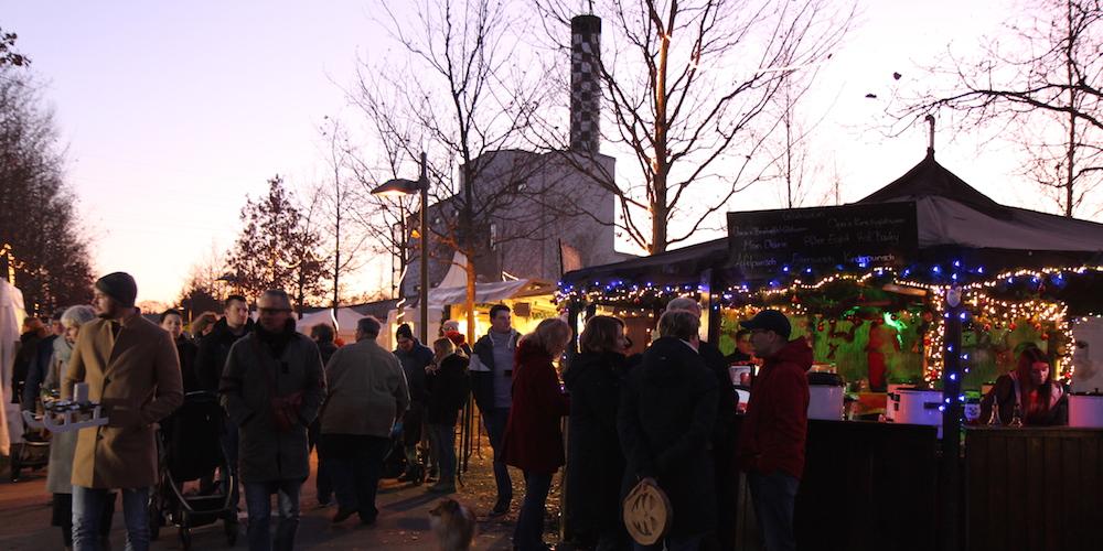 Weihnachtsstimmung im Park